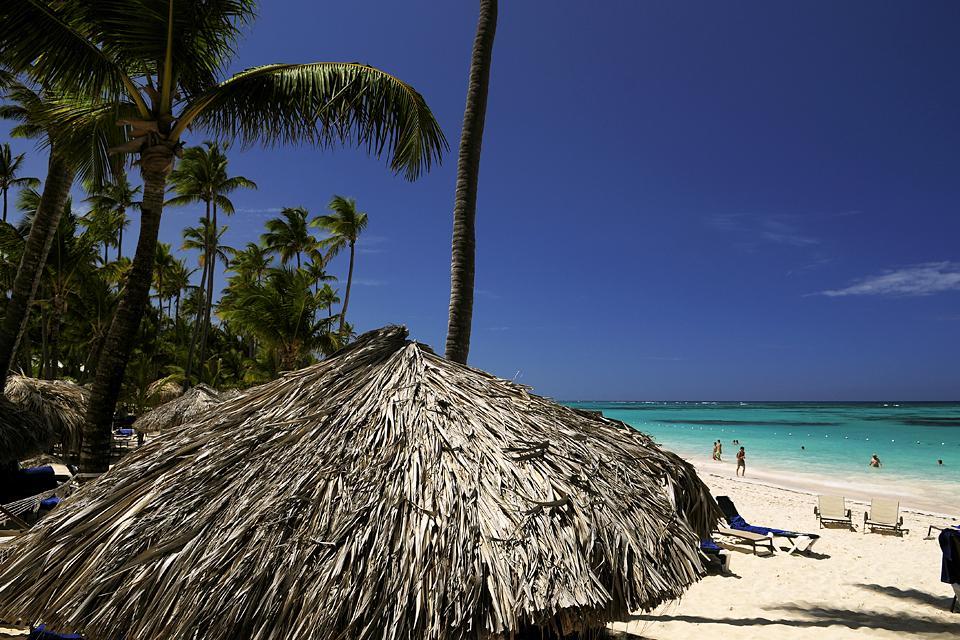 La plage d'El Cortecito à Punta Cana , République dominicaine