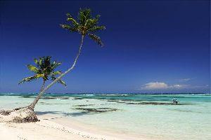 La plage de Playa Blanca , République dominicaine