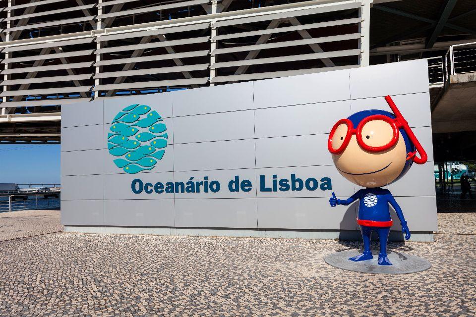 Aquarium de Lisbonne , Portugal