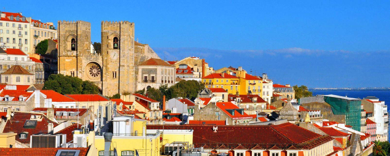 Les monuments, La cathédrale Sé de Lisbonne , Lisbonne, Der Norden und das Zentrum Portugals