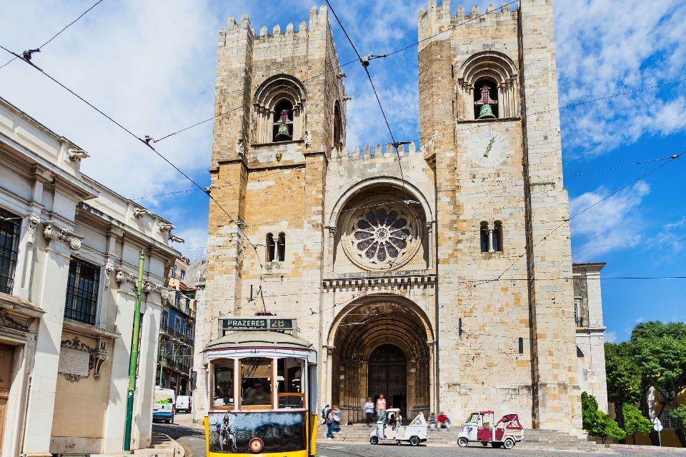La cathédrale Sé de Lisbonne , Portugal