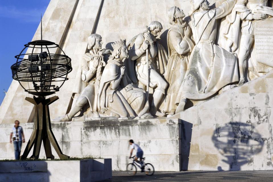 Monuments aux découvertes de Lisbonne , Portugal