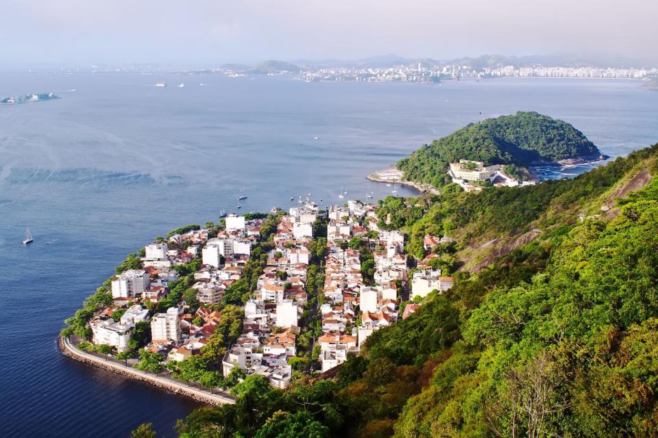 Le pain de Sucre , La carte postale de Rio , Brésil