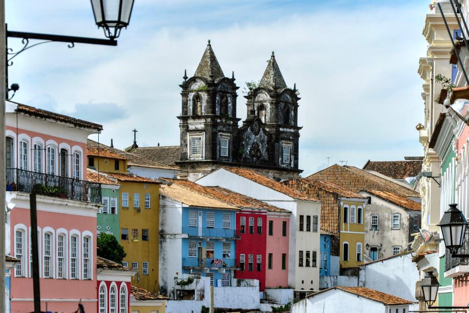 Le Pelourinho à Salvador de Bahia , Un quartier classé par l'Unesco , Brésil