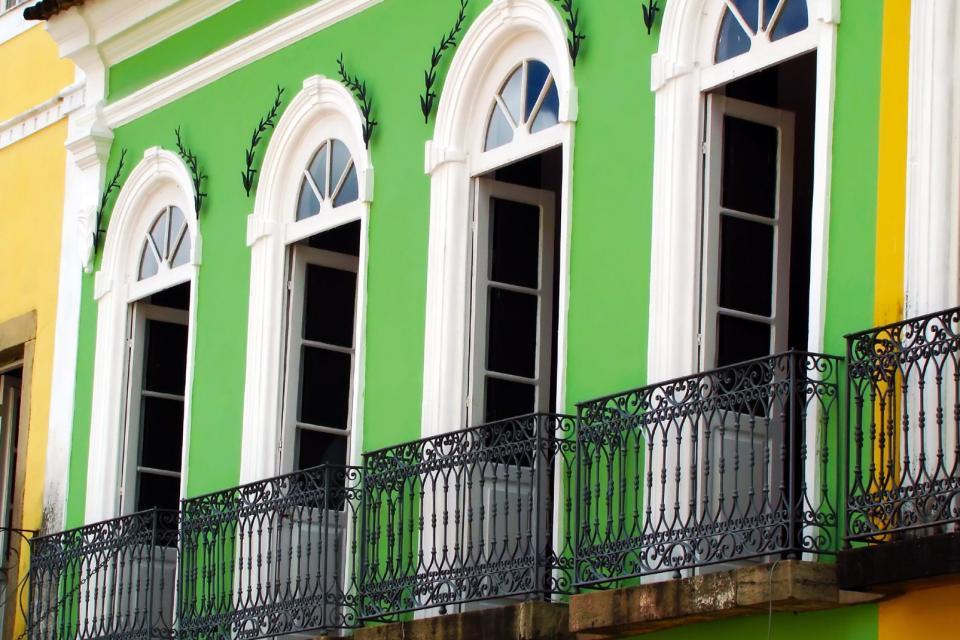 Le Pelourinho à Salvador de Bahia , Brésil