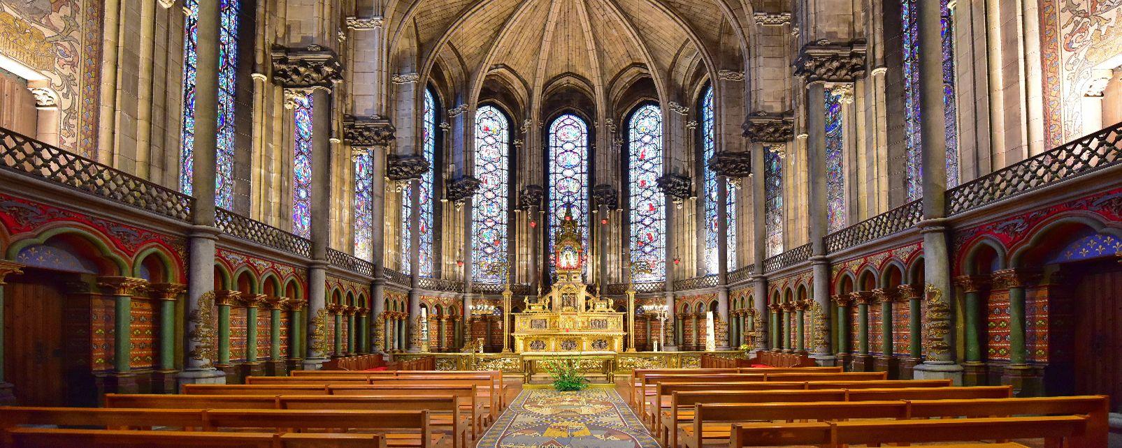 Les monuments, notre-dame, église, de la treille, france, lille, europe, nord, hauts-de-france, culte, religion, catholicisme, culture