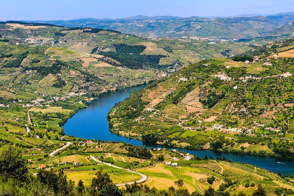 Croisière sur le Douro , Un paysage enchanté , Portugal