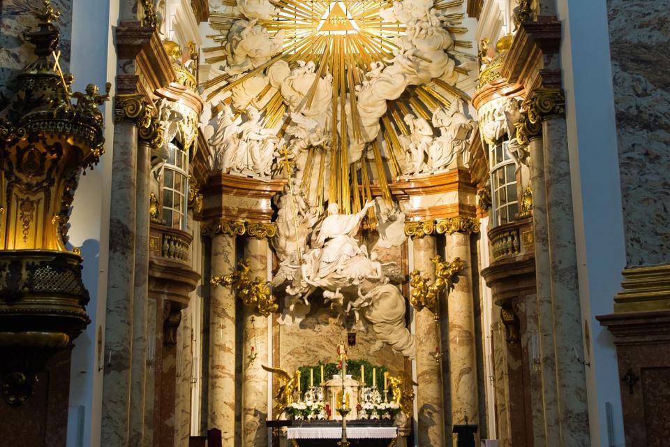 L'église Saint-Charles-Borromée , Autriche