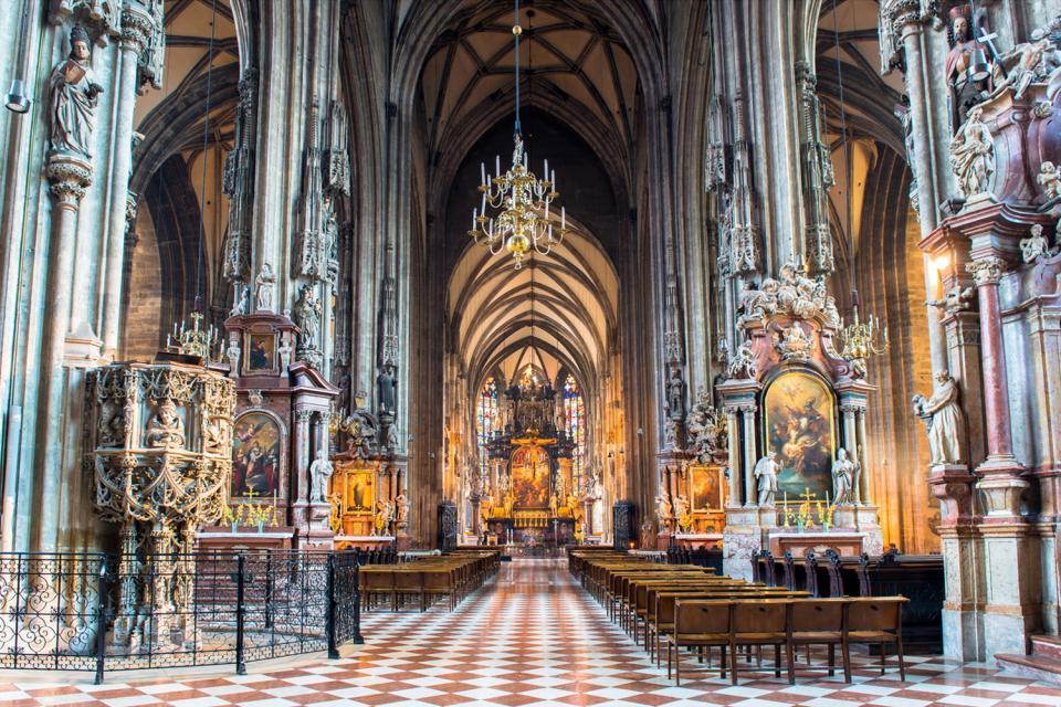 La cathédrale Saint-Etienne , Autriche