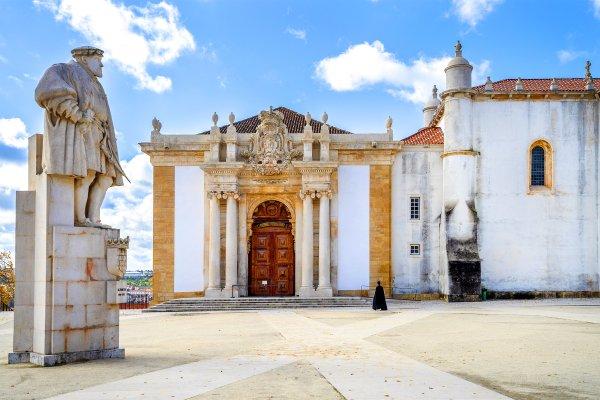 L'université de Coimbra , Portugal