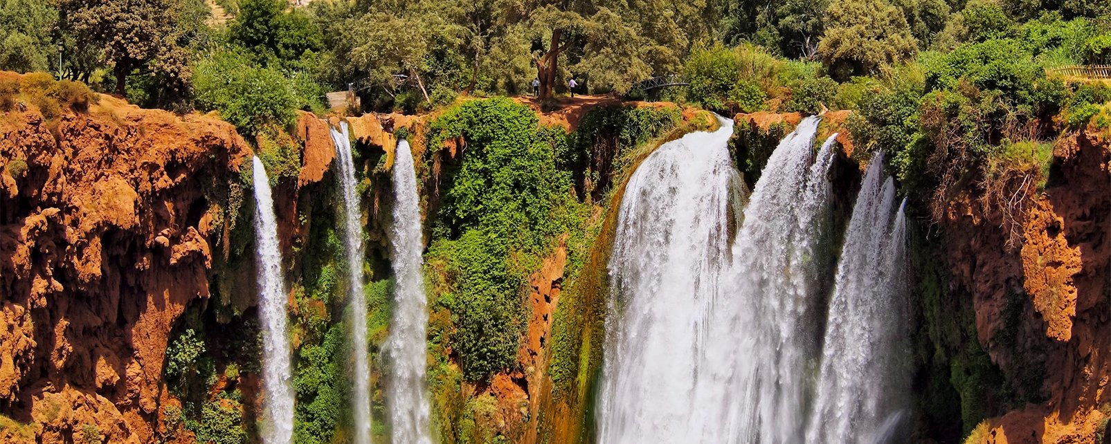 , Les cascades d'Ouzoud, Les paysages, Maroc-le Centre