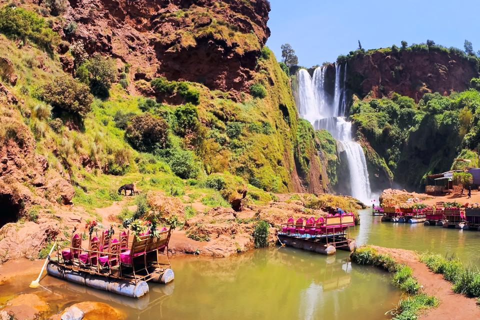 Les cascades d'Ouzoud , Maroc