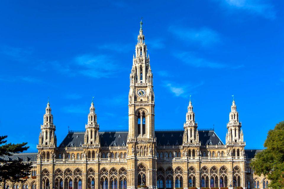 Les arts et la culture, Rathaus, hotel de ville, mairie, vienne, autriche, europe