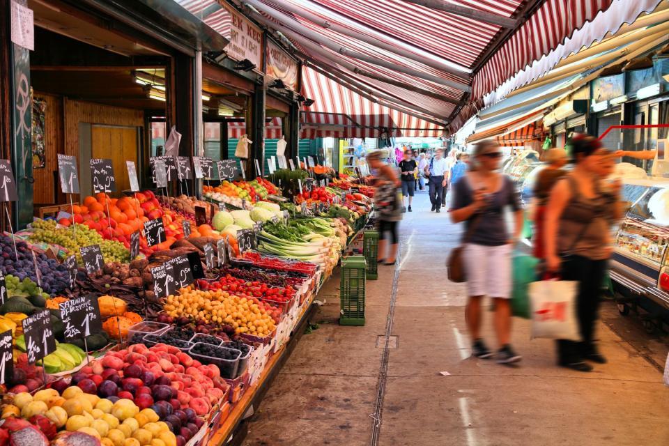 Le Naschmarkt , Autriche