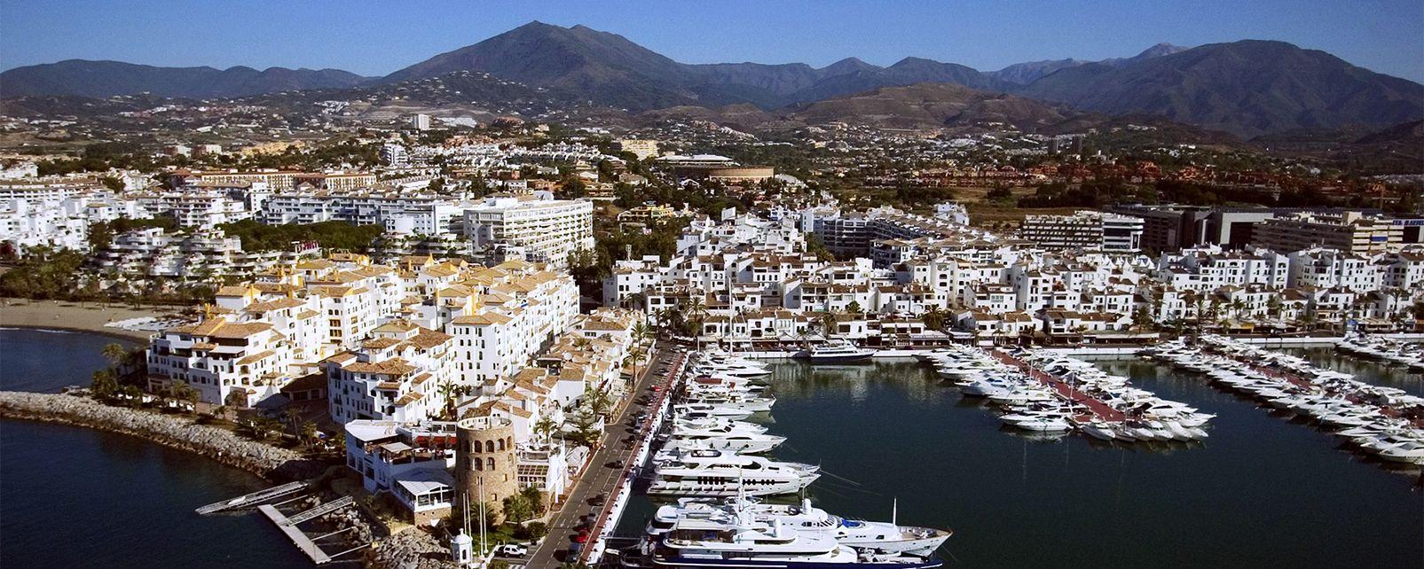 Les côtes, Espagne, andalousie, europe, costa del sol, puerto banus, port, mer, méditerranée