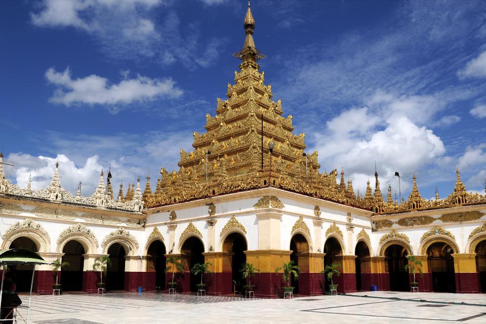Le Bouddha Mahamuni à Mandalay, Les monuments, Le Bouddha Mahamuni, Birmanie