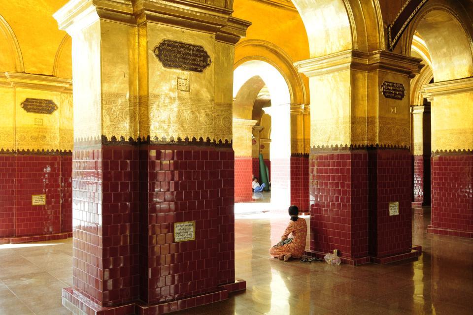 Le Bouddha Mahamuni à Mandalay, Les monuments, Second temple le plus important de Birmanie, Birmanie