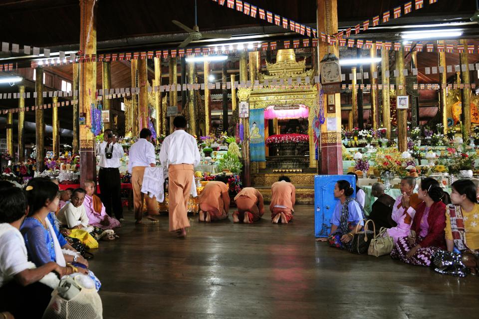 Le festival de la pagode Phaung Daw Oo au lac Inle, Les arts et la culture, La pagode Phaung Daw Oo, Birmanie