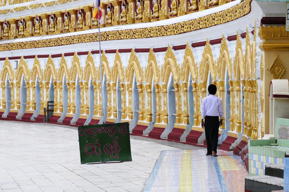 Sagaing, Les arts et la culture, Le plus important centre religieux du pays, Birmanie