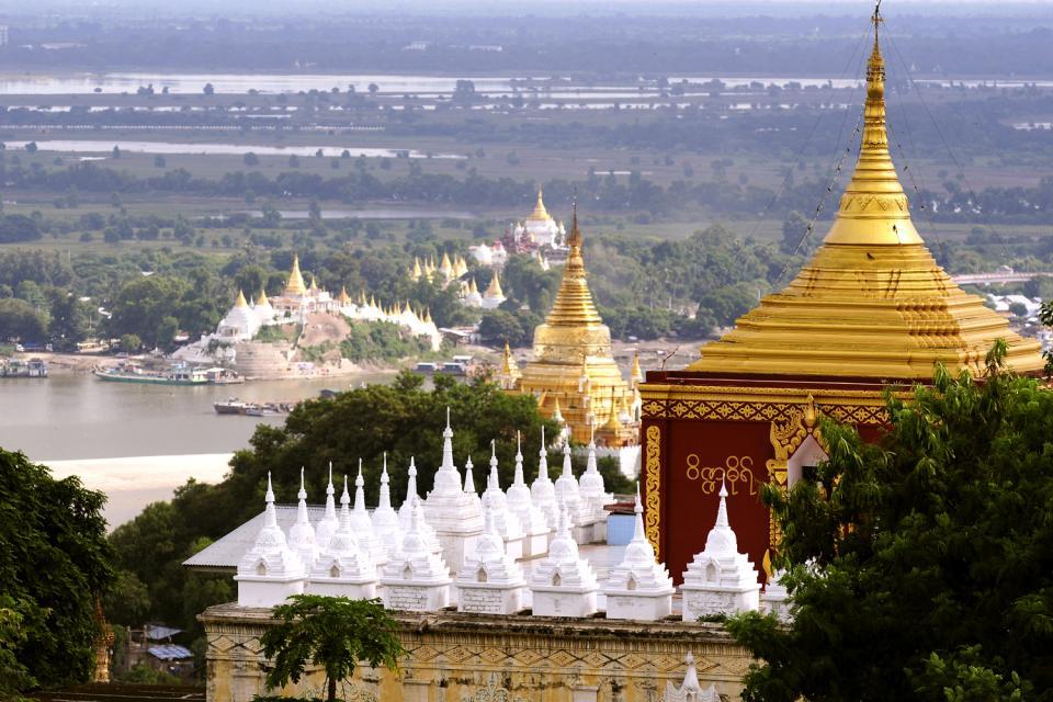 Sagaing, Les arts et la culture, Le pont d'Ava, Birmanie