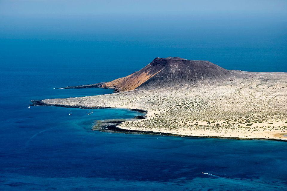 La Graciosa , La 8ème île des Canaries , Espagne