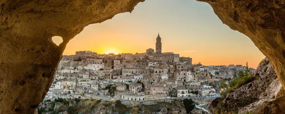 Matera , Le chiese rupestri , Italie