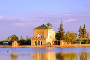 Le jardin de la Ménara , Maroc