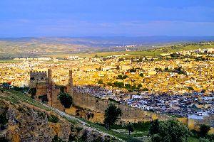 La medina de Fez , Marruecos