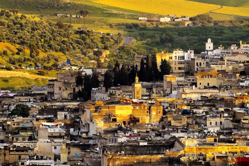 La médina de Fès , La Médina le soir venu , Maroc