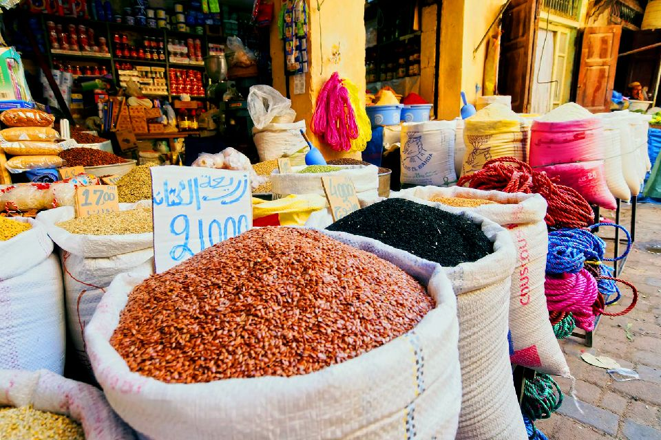 La médina de Fès , Le souk de Fés , Maroc