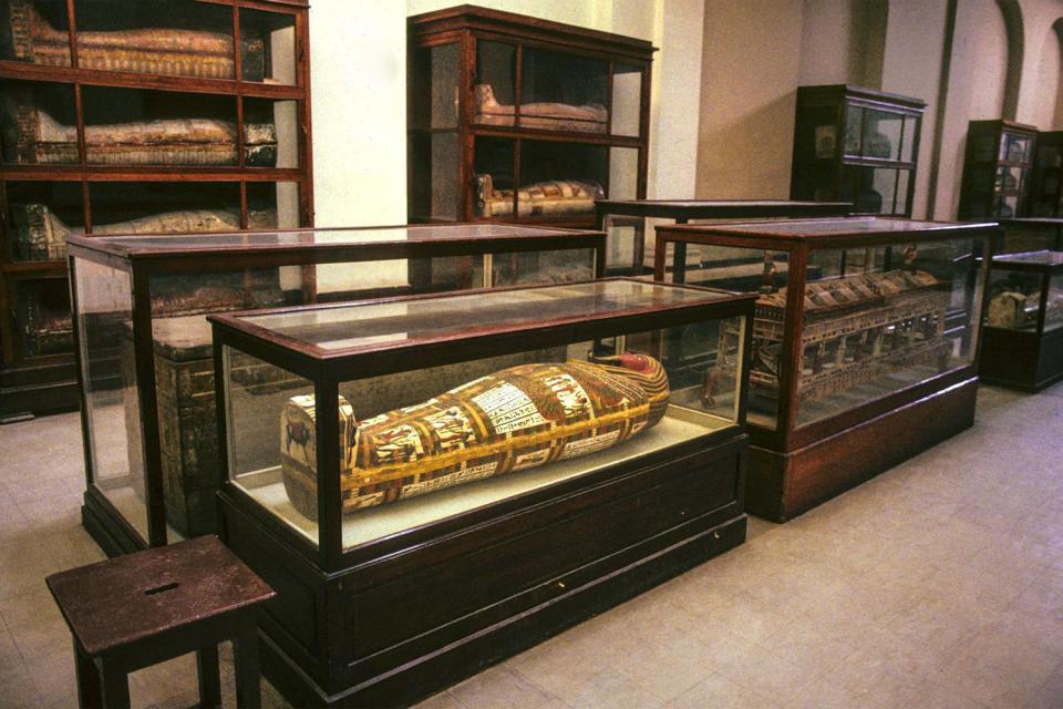 Le Musée Egyptien du Caire , Egypte