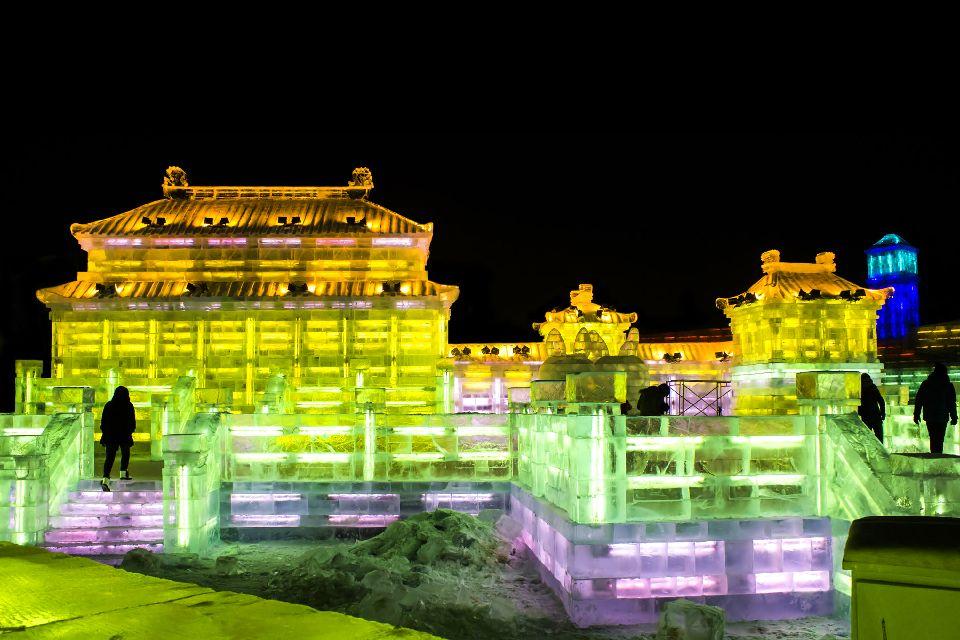 Le festival de sculpture sur glace à Harbin , Un festival unique au monde , Chine