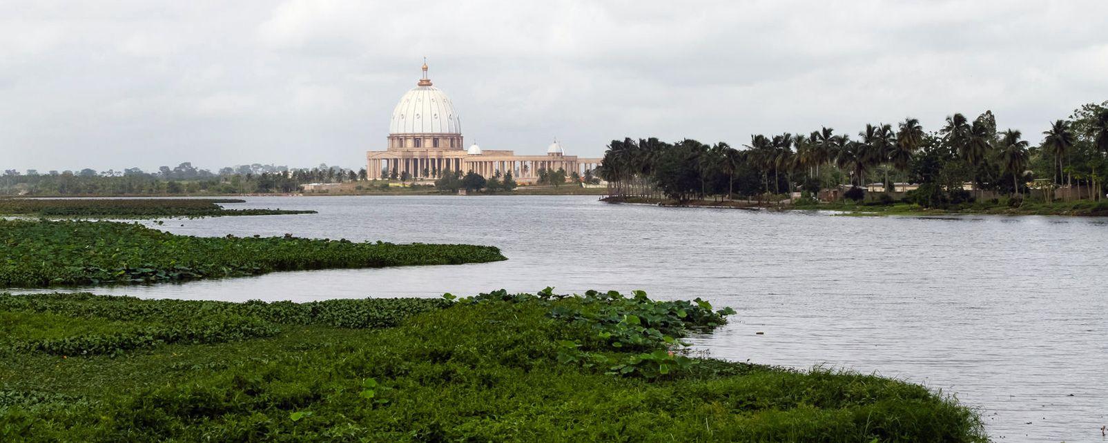 La basilique de Yamoussoukro , Costa d'Avorio