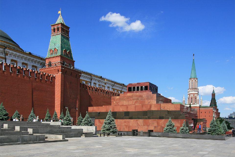 Le Mausolée de Lénine , Russie