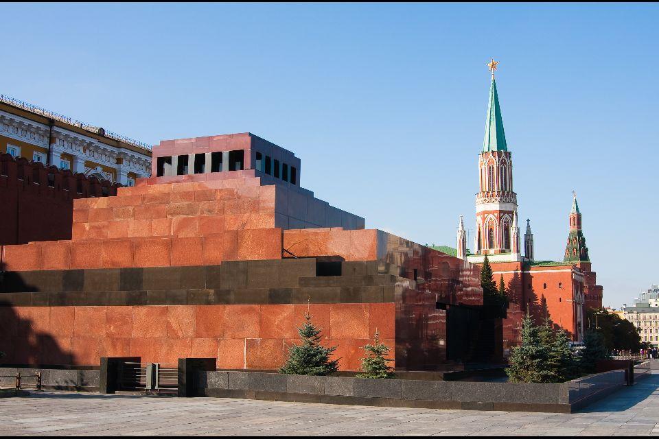 Le Mausolée de Lénine , Sur la Place Rouge , Russie