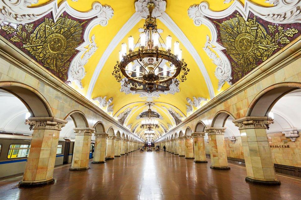 Le métro de Moscou, Les arts et la culture, Moscou, Moscou et le centre de la Russie