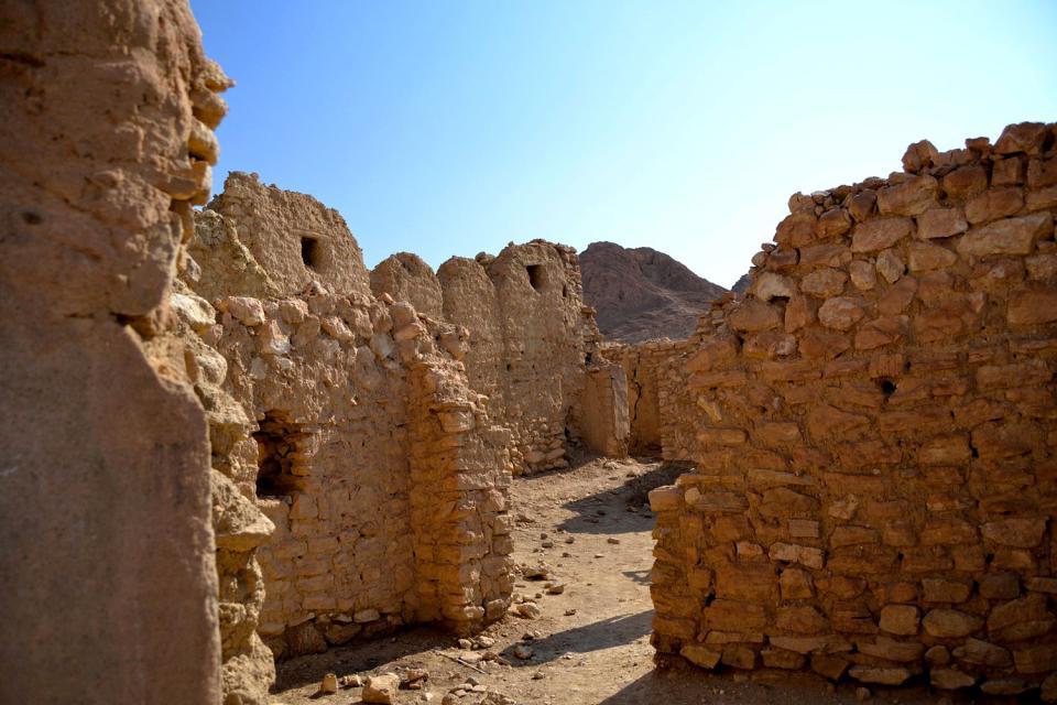 Le village abandonné de Tamerza , Tunisie
