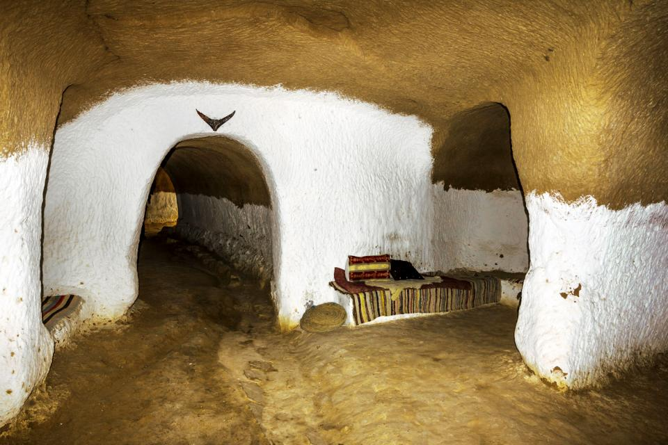 Le village de Matmata , Tunisie