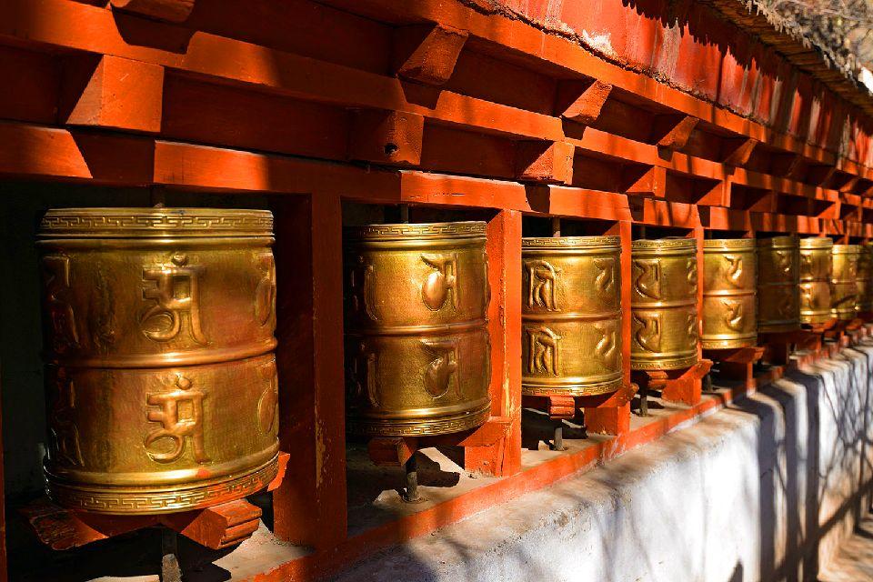 Le palais de Potala à Lhassa au Tibet , Un lieu sacré , Chine