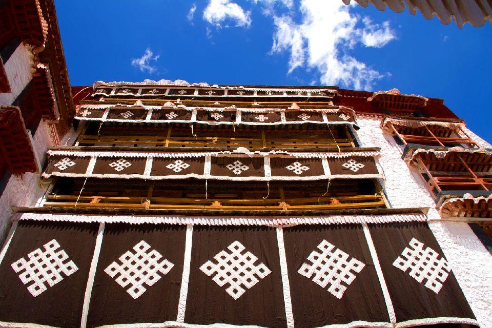 Le palais de Potala à Lhassa au Tibet , Le symbole du Tibet , Chine