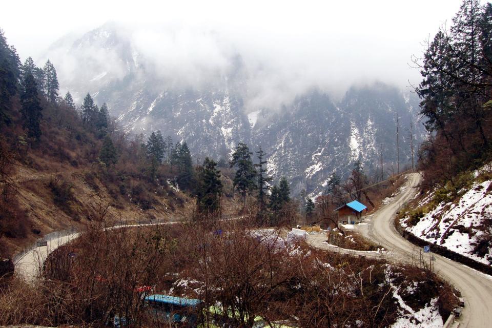 Le Parc du glacier de Hailuogo , Chine