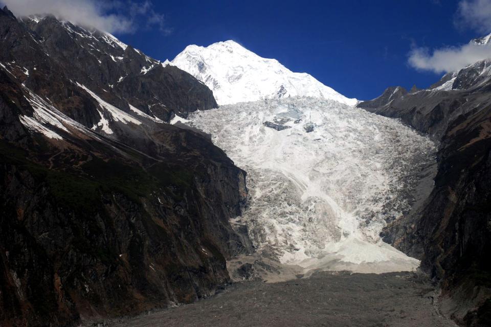 Le Parc du glacier de Hailuogou , Sommets enneigés , Chine