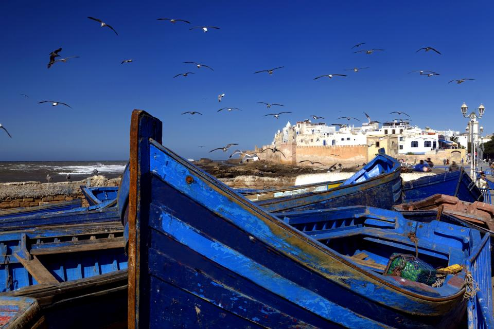 Remparts d'Essaouira , Maroc