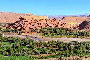 Le Ksar Ait Ben Haddou , Maroc