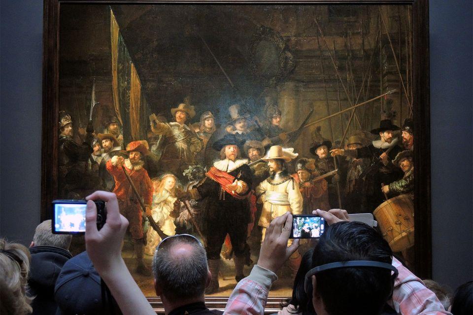 Les arts et la culture, Rijksmuseum, musée, culture, peinture, Amsterdam, Pays-bas, hollande, Rembrandt, la ronde de nuit.