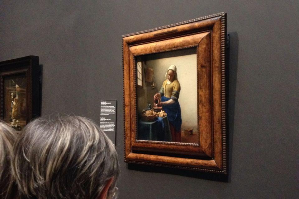 Les arts et la culture, Rijksmuseum, musée, culture, peinture, Amsterdam, Pays-bas, hollande, la laitière, vermeer, tableau.