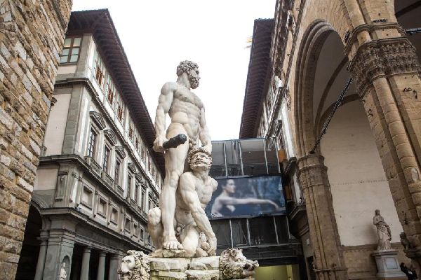 Piazza della Signoria , Firenze , Italia