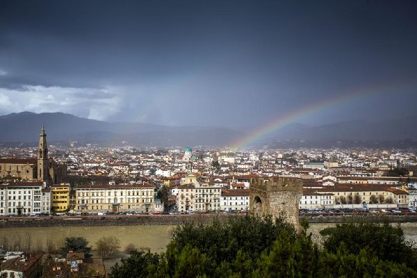 Piazzale Michelangelo , Firenze , Italia