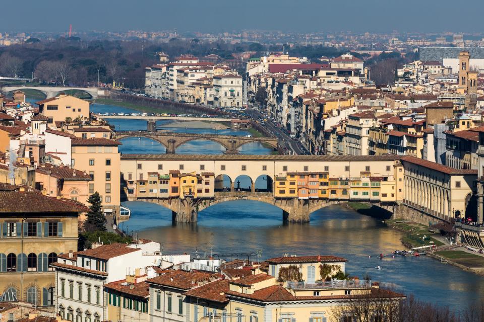 Piazzale Michelangelo , Florence , Italie