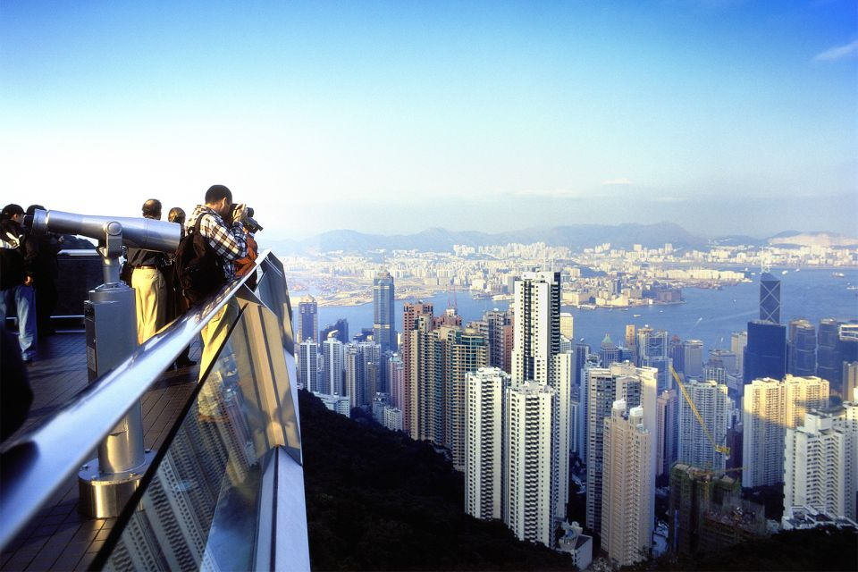 Les paysages, Victoria Peak, pic, victoria, chine, hong-kong, asie, baie, montagne